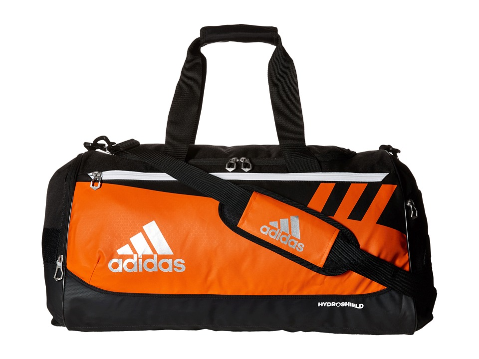 adidas - Team Issue Medium Duffel (Orange) Duffel Bags