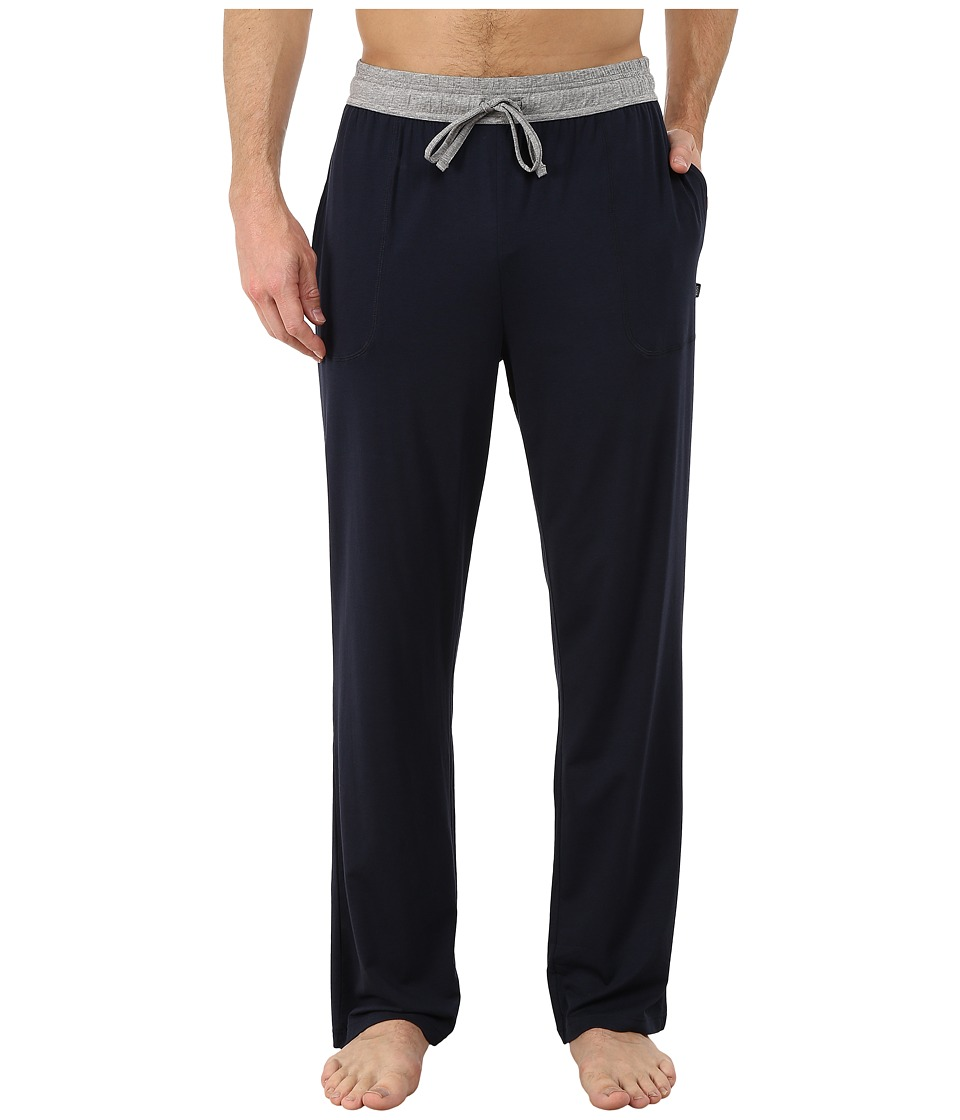 BOSS Hugo Boss - Balance Jersey Long Pants (Navy) Men's Pajama