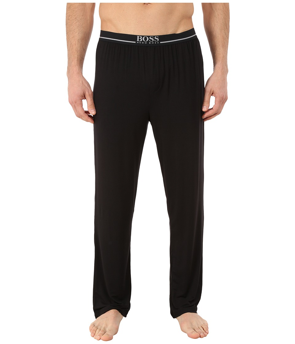 BOSS Hugo Boss - Modal Long Pants (Black) Men's Pajama