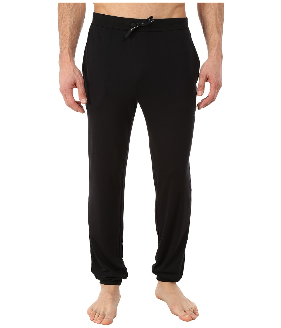 BOSS Hugo Boss - Mix and Match Long Pants Cuffed (Black) Men's Pajama