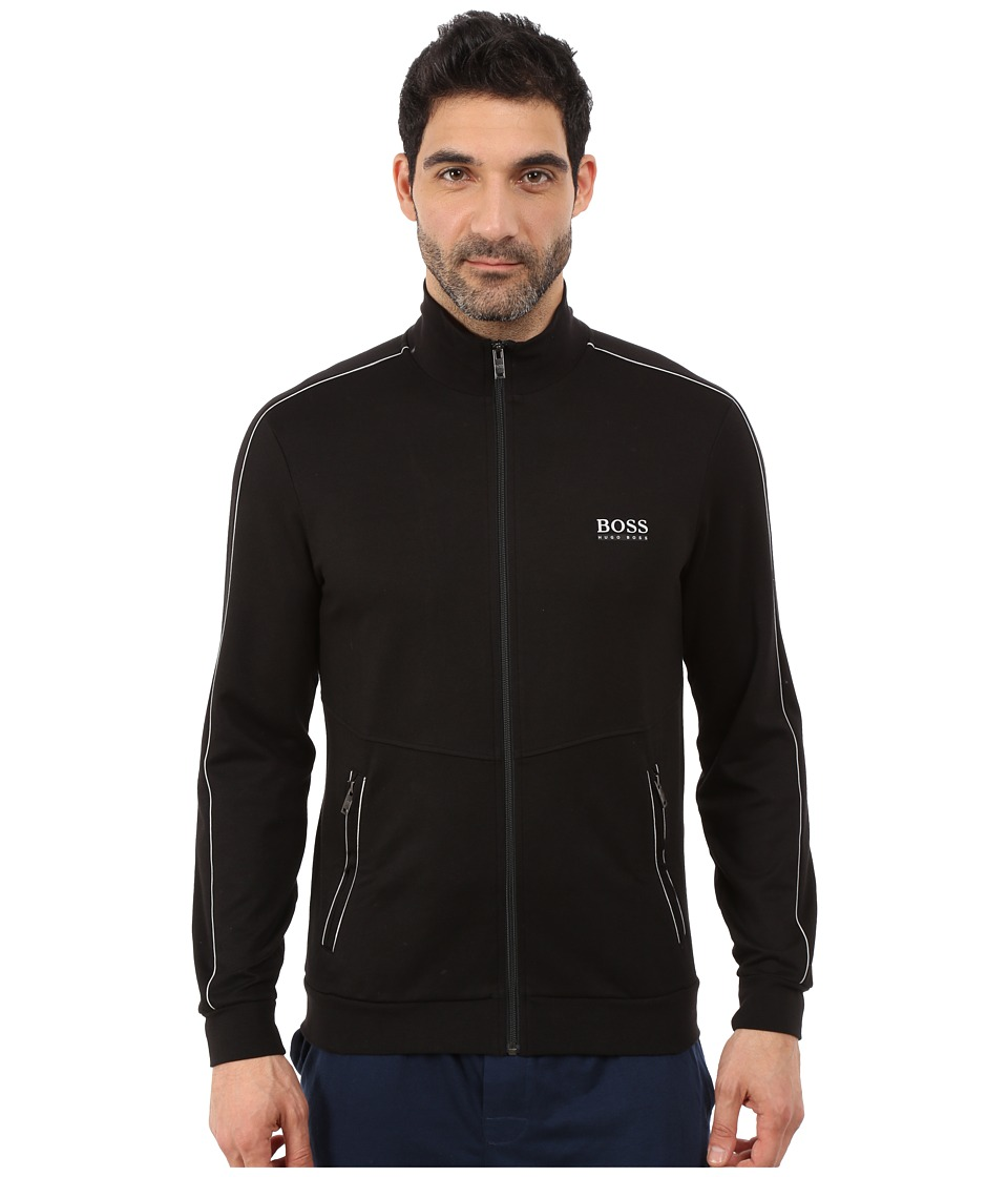 BOSS Hugo Boss - Tracksuit Zip-Up (Black) Men's Coat