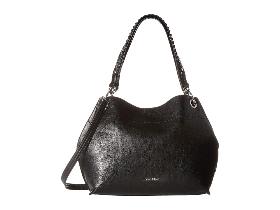 Calvin Klein - Reversible Novelty Hobo (Black/Grey) Cross Body Handbags
