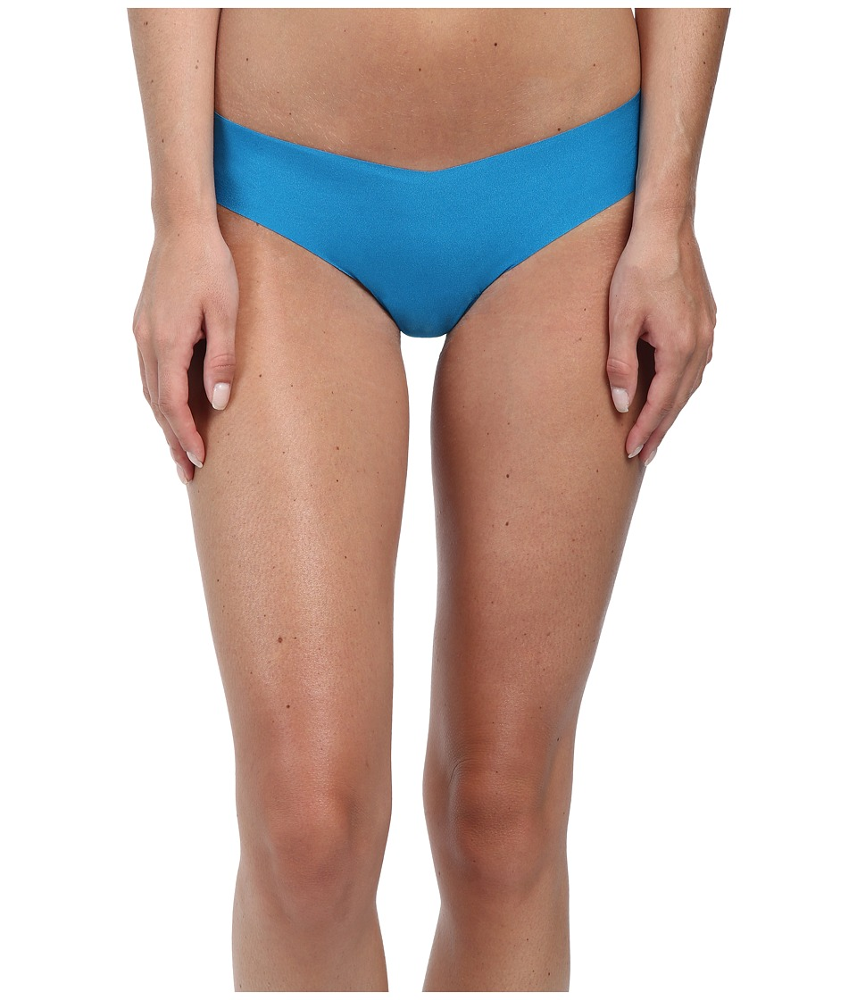 Commando - Solid Thong CT01 (Cerulean) Women's Underwear