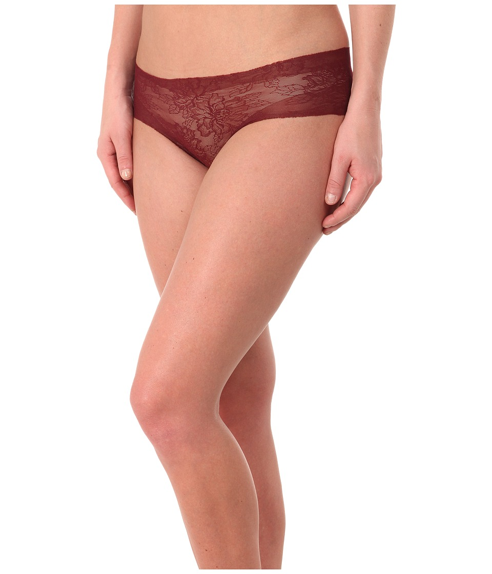 Commando - Weightless Lace Panty BK08 (Pinot) Women