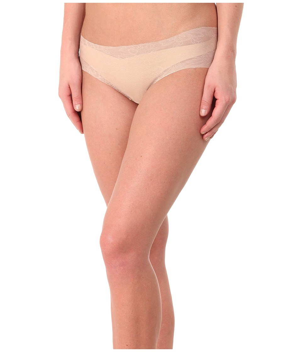 Commando - Weightless Lace Panty BK08 (Nude) Women's Underwear