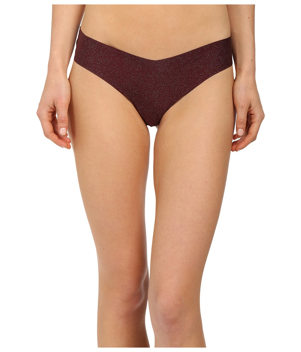 Commando - Print Thong CT02 (Cabernet Sparkle) Women's Underwear