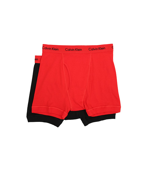 Calvin Klein Underwear - Boxer Brief (Ignite Red/Black) Men's Underwear