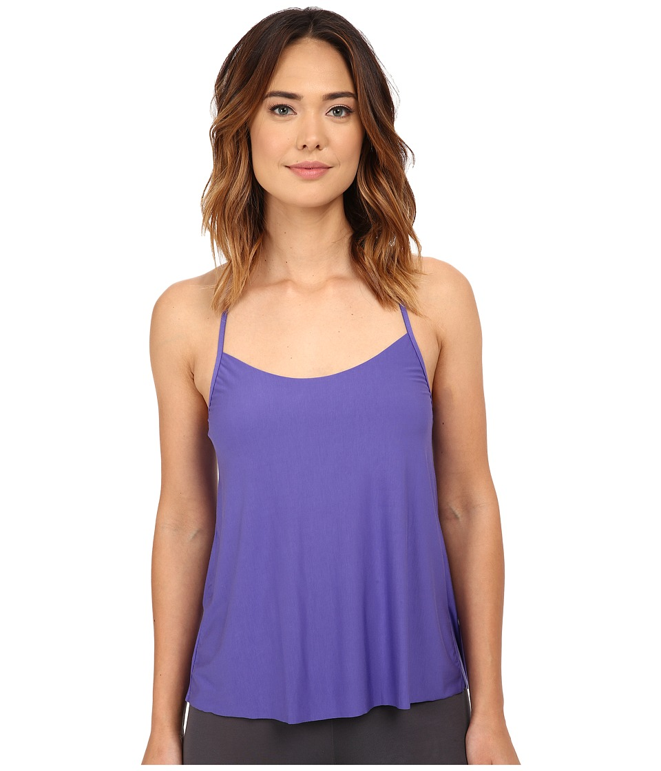Commando - Butter T-Back Cami w/ Lace SL106 (Violet/Black) Women's Sleeveless