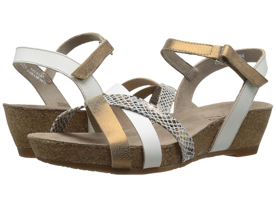 Munro - Eden (White Multi Leather) Women's Sandals