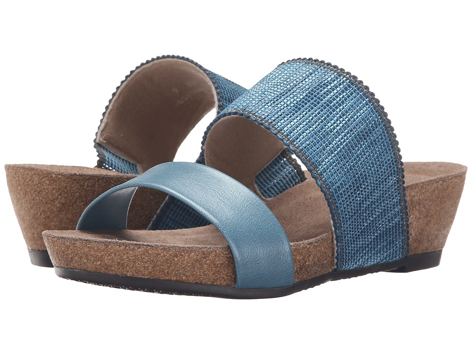Munro - Riviera (Blue Shimmer) Women's Sandals