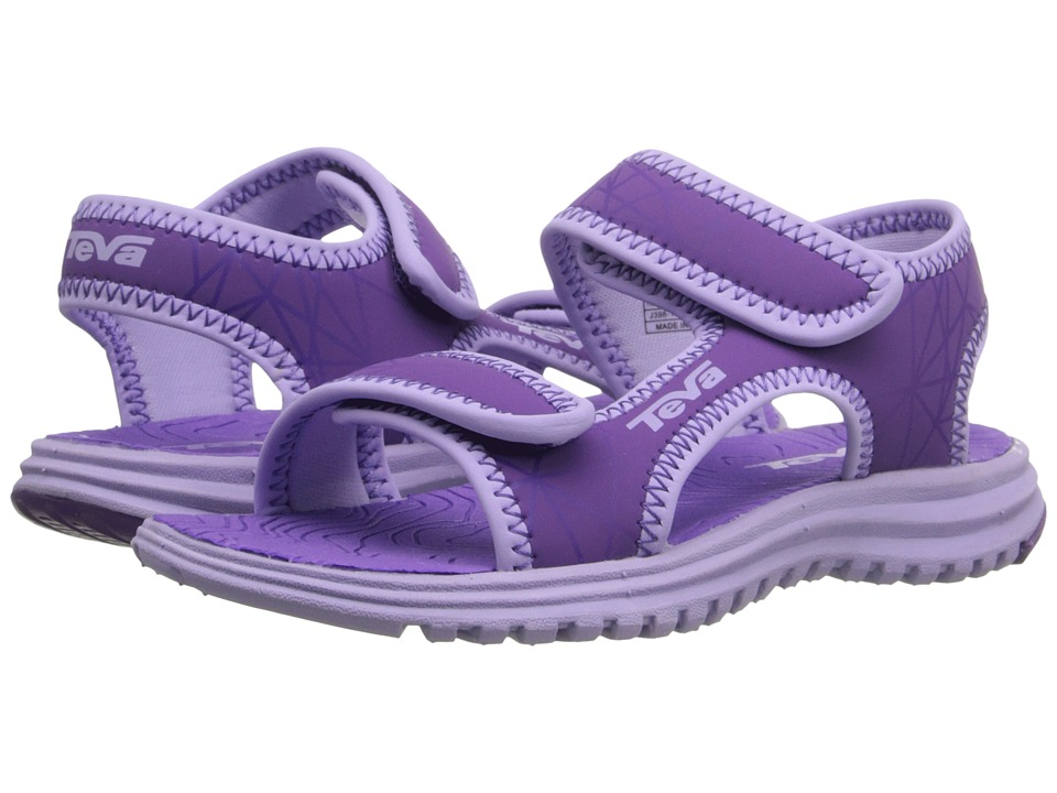Teva Kids - Tidepool (Little Kid/Big Kid) (Purple/Lavender Print) Girls Shoes
