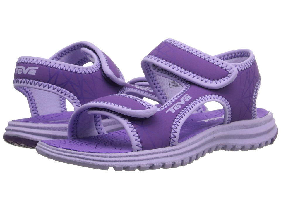 Teva Kids - Tidepool (Toddler) (Purple/Lavender Print) Girls Shoes