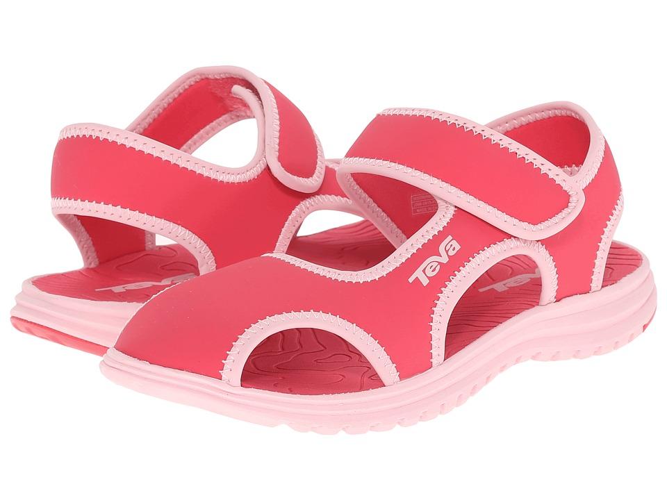 Teva Kids Tidepool CT (Little Kid) (Paradise Pink/Almond Blossom) Girls Shoes
