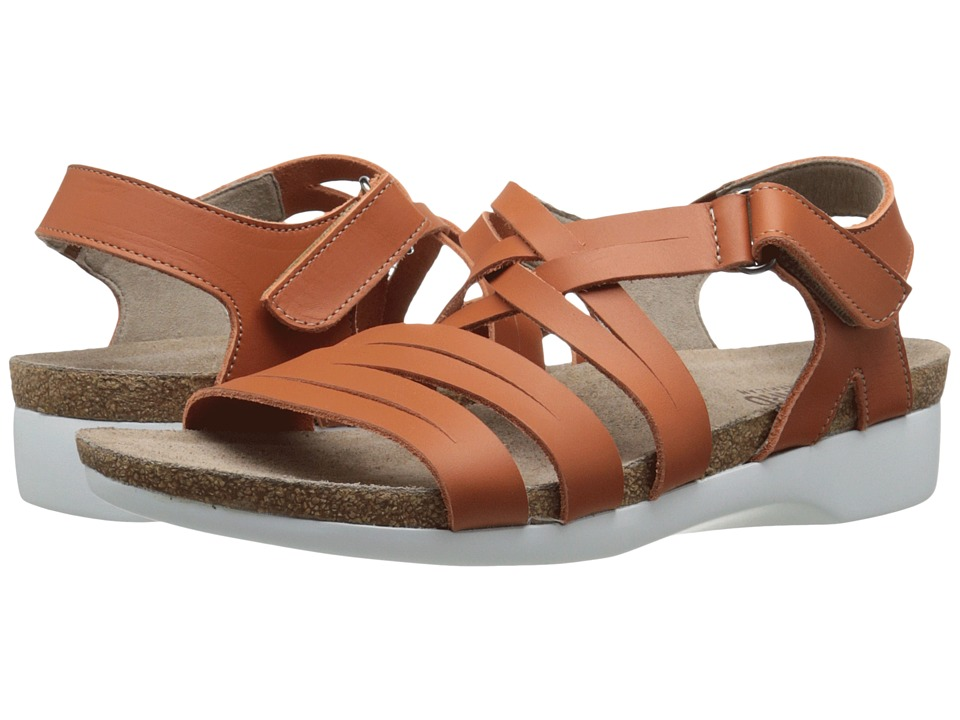 Munro - Kaya (Orange Leather) Women's Sandals