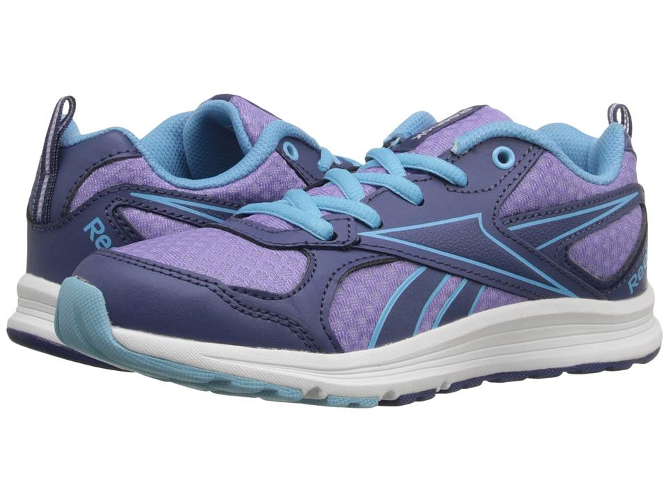 Reebok Kids - Almotio RS (Little Kid/Big Kid) (Midnight Blue/Smoky Violet/Blue Splash/White) Kids Shoes