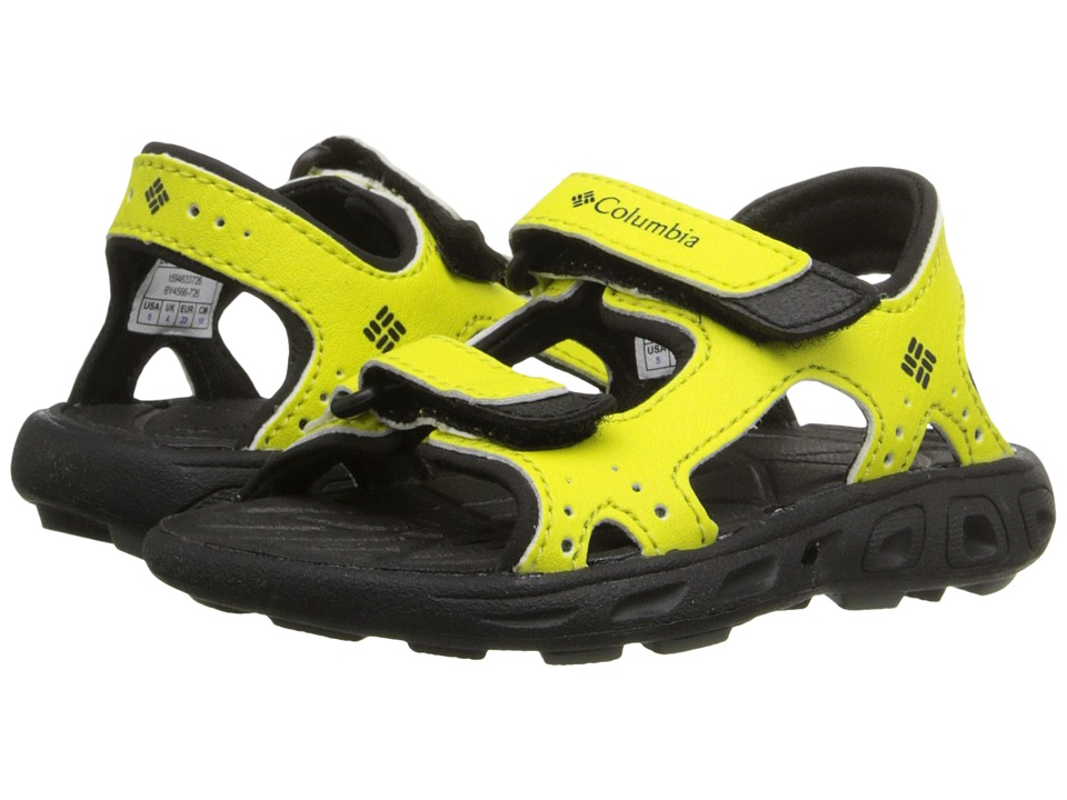Columbia Kids - Techsun Vent (Toddler) (Zour/Black) Kid's Shoes