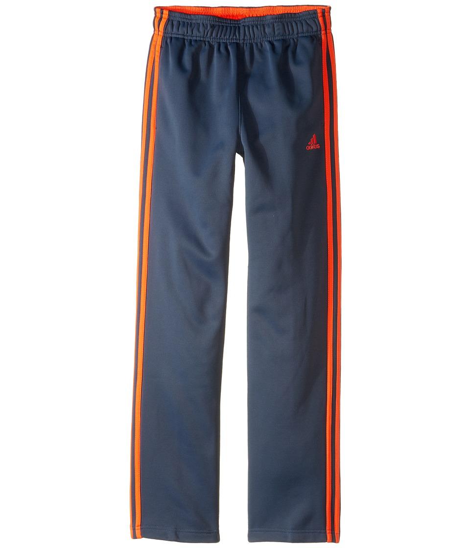 adidas Kids - Tech Fleece Pants (Big Kids) (Mercury Grey/Solar Red) Boy