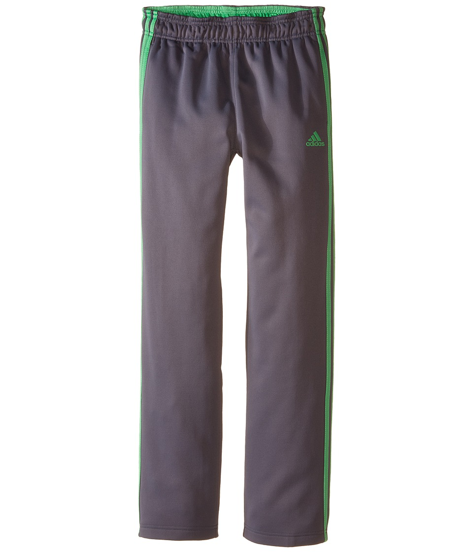 adidas Kids - Tech Fleece Pants (Big Kids) (Mercury Grey/Semi Flash Lime) Boy