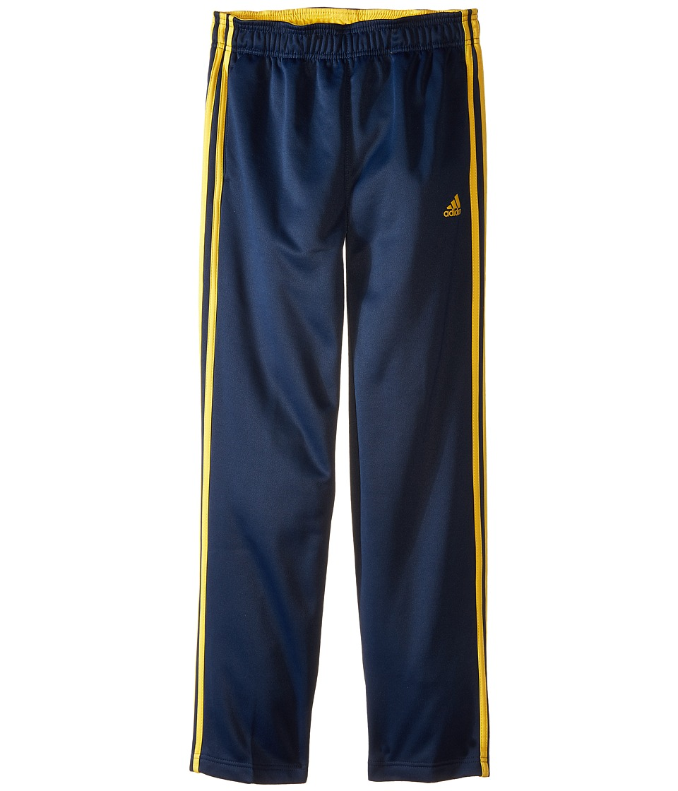 adidas Kids - Tech Fleece Pants (Big Kids) (Navy/Super Yellow) Boy's Workout