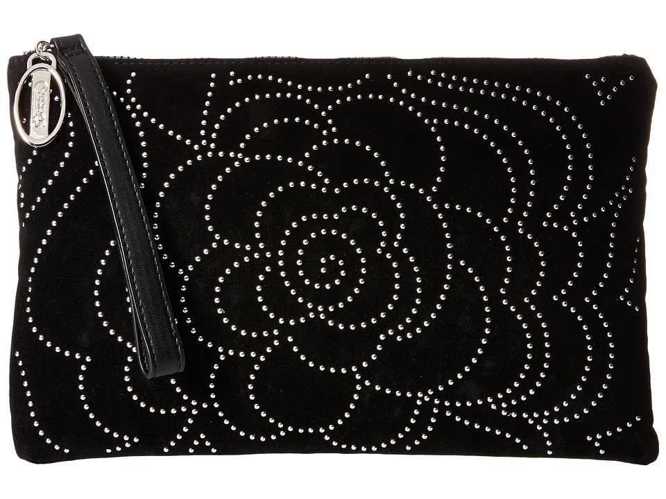 CARLOS by Carlos Santana - Rosie Large Clutch (Black) Clutch Handbags