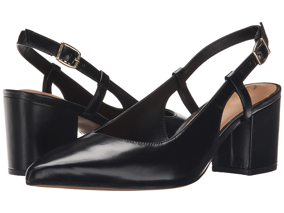 Clarks - Pravana Claire (Black Leather) Women's Sling Back Shoes