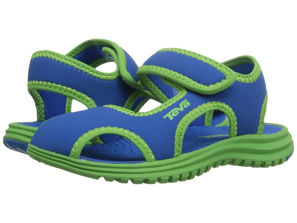 Teva Kids - Tidepool CT (Toddler) (Blue/Green) Kids Shoes