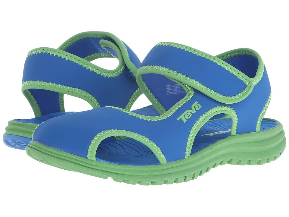 Teva Kids - Tidepool CT (Little Kid) (Blue/Green) Kids Shoes
