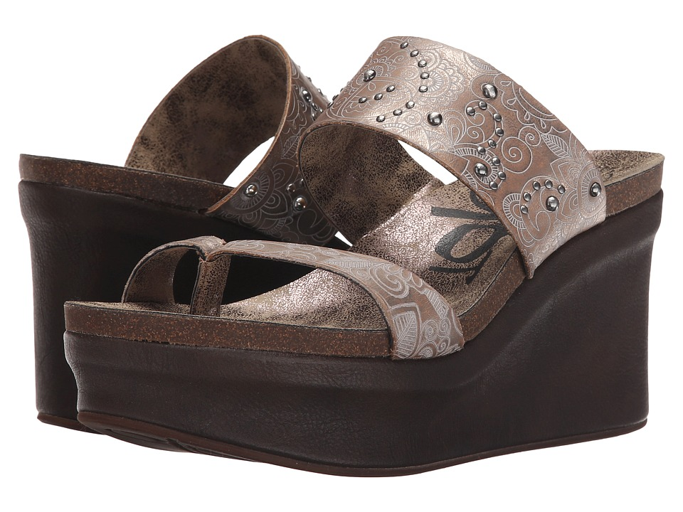 OTBT - Beachcomber (New Bronze) Women's Wedge Shoes