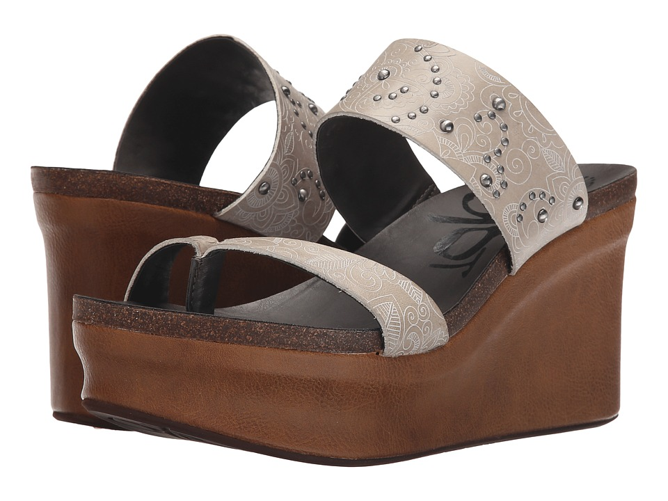 OTBT - Beachcomber (Timber Wolf) Women's Wedge Shoes