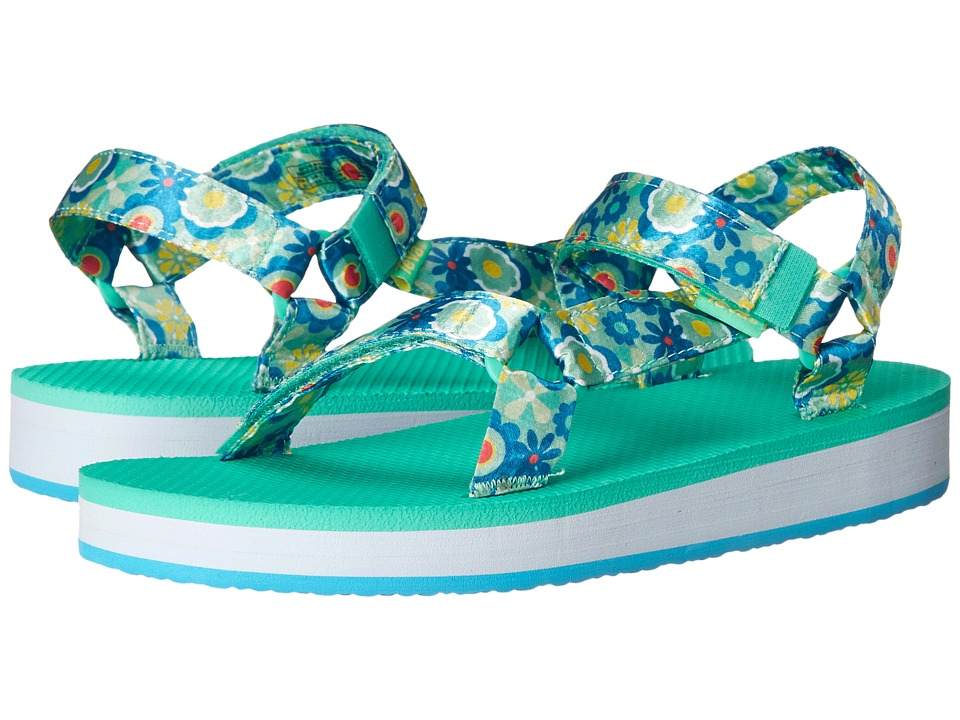Teva Kids - Hi-Rise Universal (Little Kid/Big Kid) (Blue Multi Flower) Girls Shoes