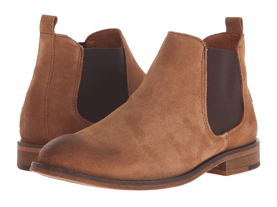 Wolverine - Jean (Camel Suede) Women's Pull-on Boots