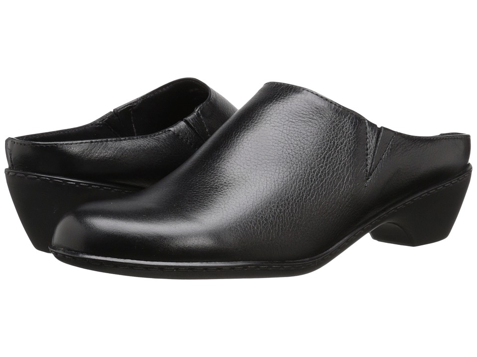Walking Cradles - Cane (Black Soft Tumbled Leather) Women's Shoes