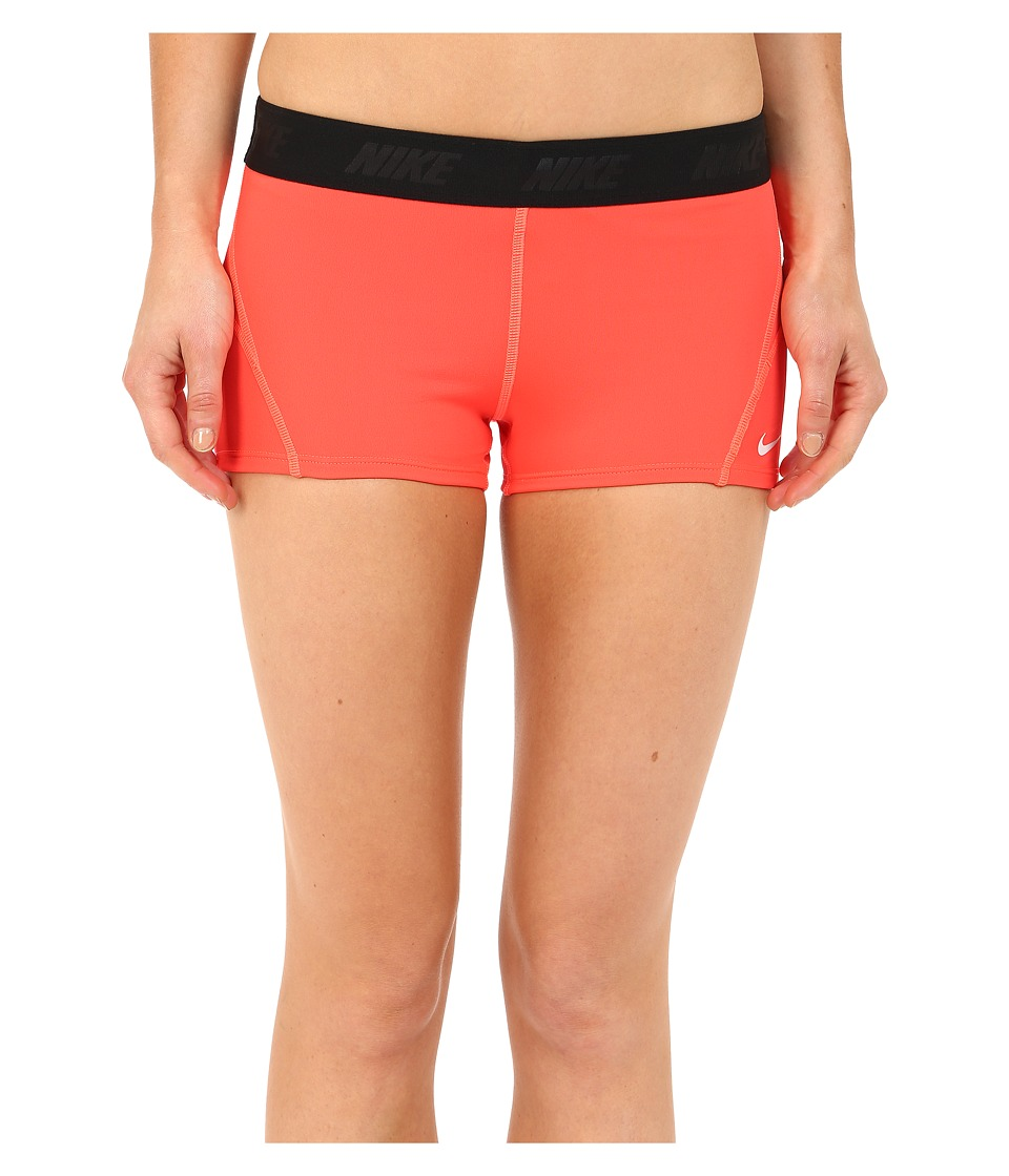 Nike - Solids Kick Short (Bright Crimson) Women's Swimwear