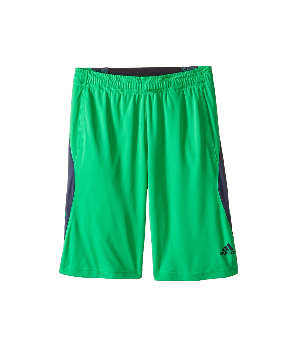 adidas Kids - Ultimate Swat Short (Big Kids) (Semi Flash Lime/Mercury Grey) Boy's Shorts