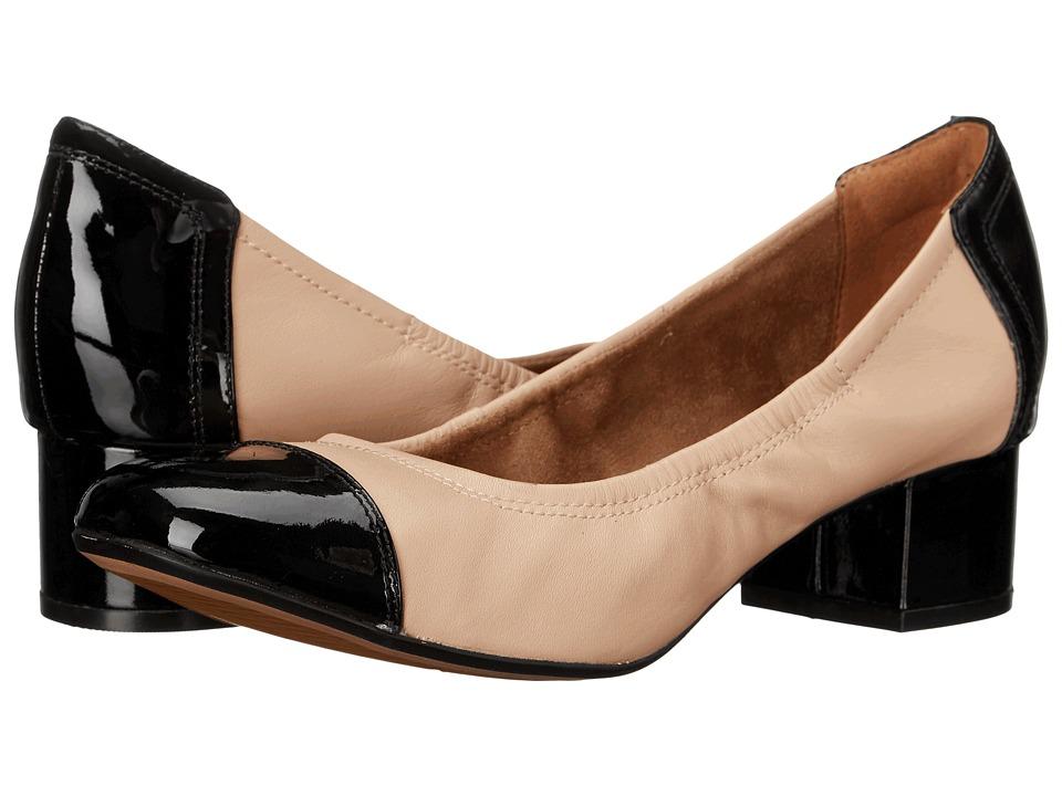 Clarks - Cala Dor (Nude Combi) Women's 1-2 inch heel Shoes