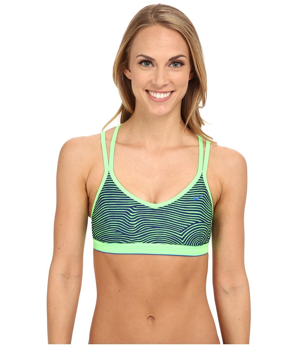 Nike - Flow Crossback Sport Bra (Deep Night) Women's Swimwear