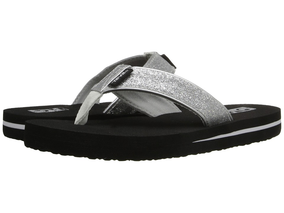 Teva Kids - Mush II (Little Kid/Big Kid) (Silver Sparkle) Girls Shoes
