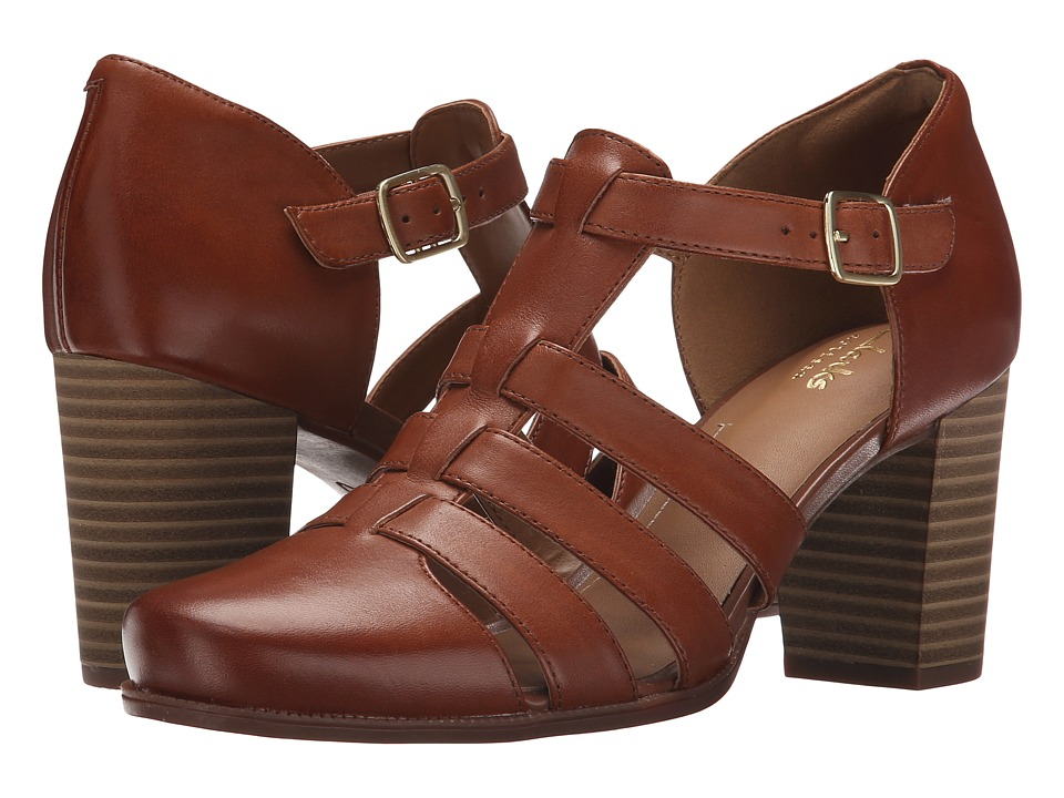 Clarks - Ciera Gull (Nutmeg Leather) High Heels