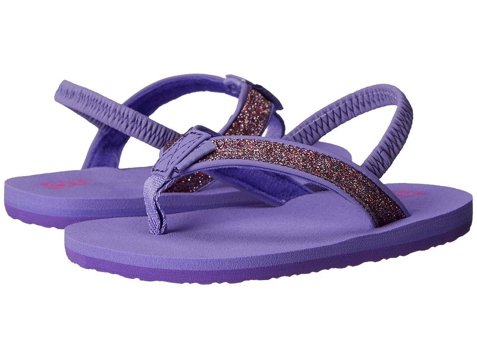 Teva Kids Mush II (Toddler) (Purple Sparkle) Girls Shoes