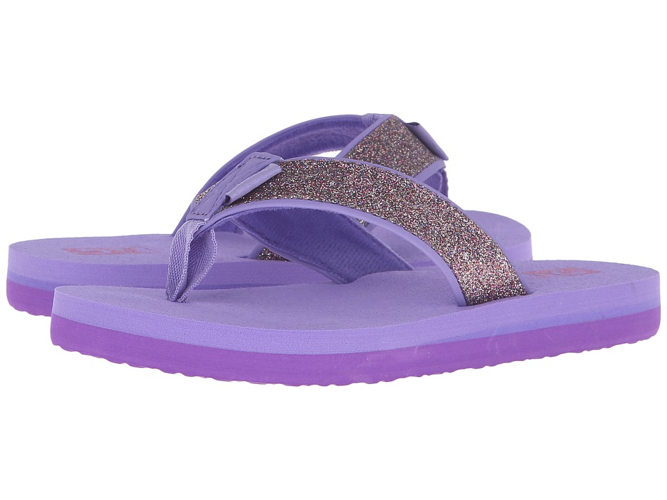 Teva Kids - Mush II (Little Kid/Big Kid) (Purple Sparkle) Girls Shoes