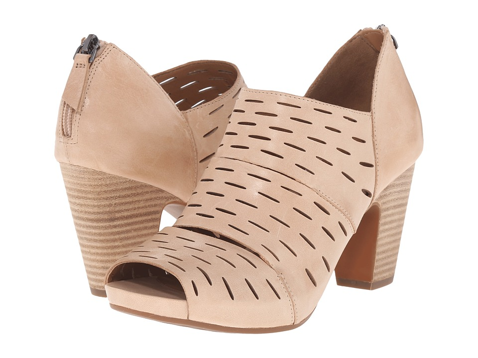 Clarks - Okena Sass (Nude Leather) High Heels