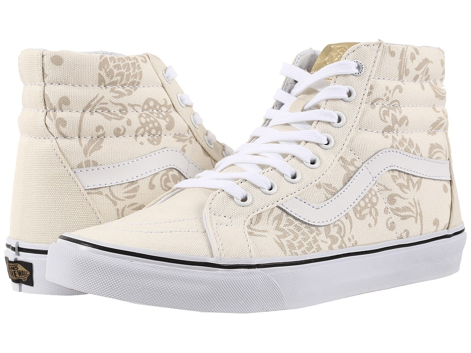 Vans - SK8-Hi Reissue ((50th) Duke/Classic White) Skate Shoes