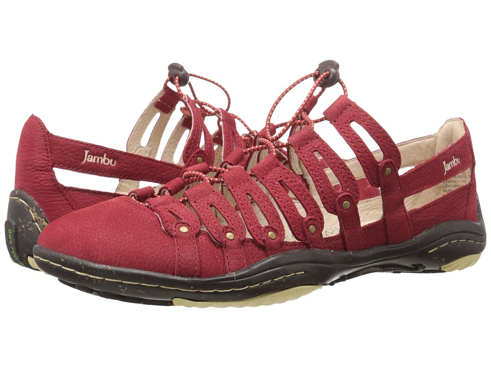 Jambu - El Dorado (Red) Women's Shoes