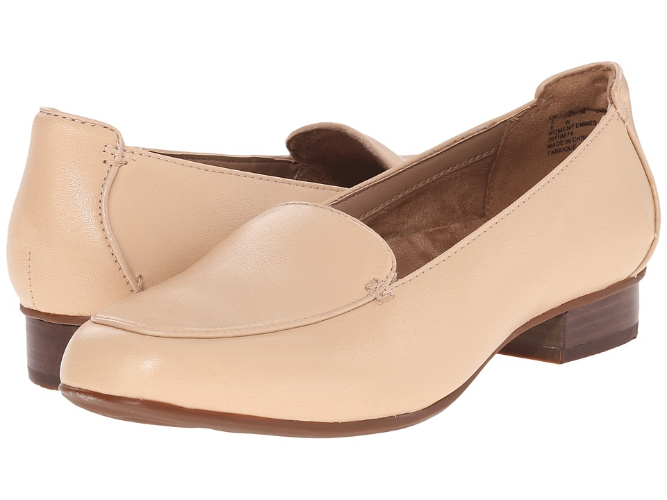 Clarks - Keesha Luca (Nude Leather) Women's 1-2 inch heel Shoes