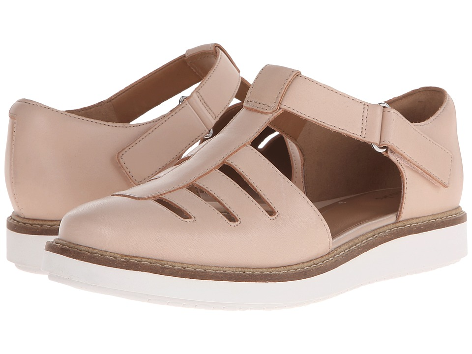 Clarks - Glick Delta (Nude Leather) Women's Shoes