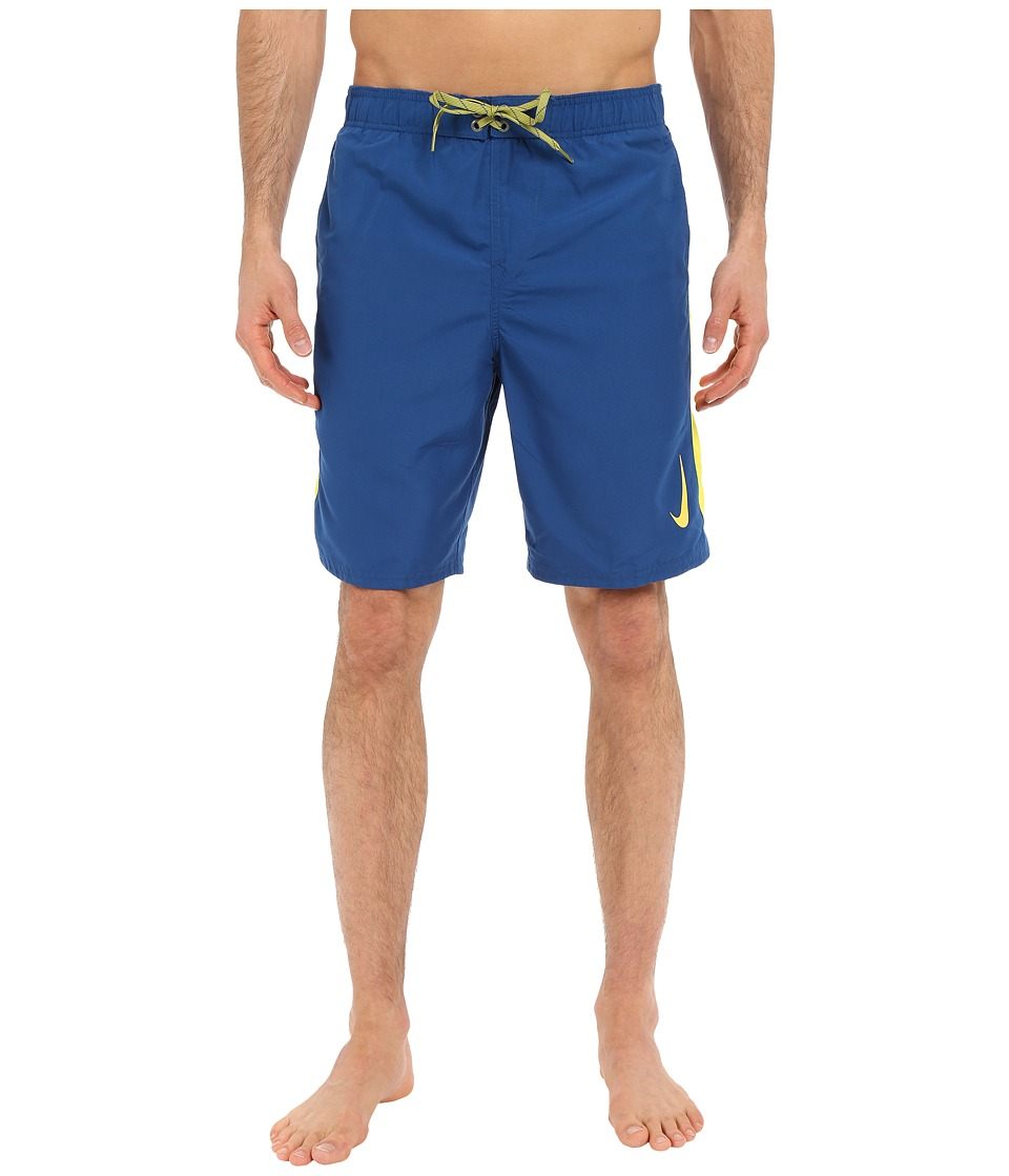 Nike - Color Surge Sway 9 Volley Short (Court Blue) Men's Swimwear