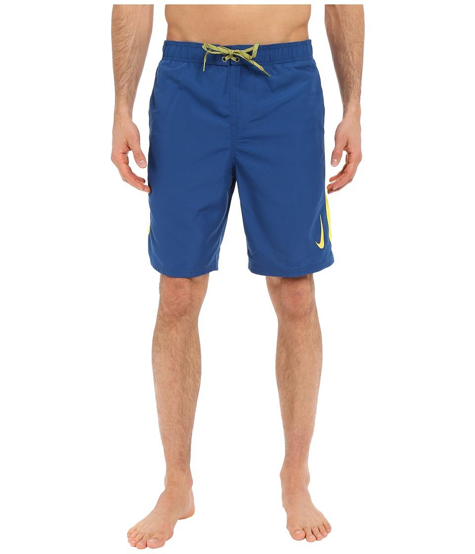 Nike - Color Surge Sway 9 Volley Short (Court Blue) Men's Swimwear
