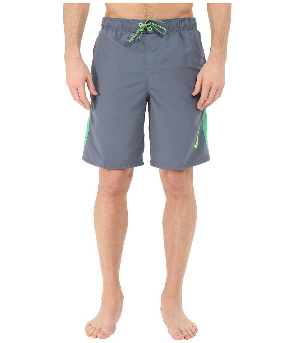 Nike - Color Surge Sway 9 Volley Short (Blue Graphite) Men's Swimwear