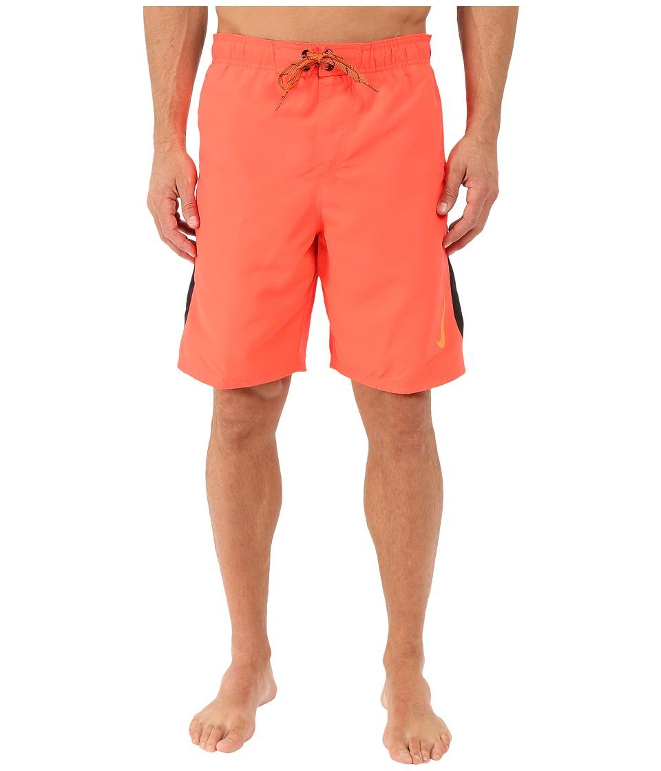 Nike - Color Surge Sway 9 Volley Short (Bright Crimson) Men's Swimwear