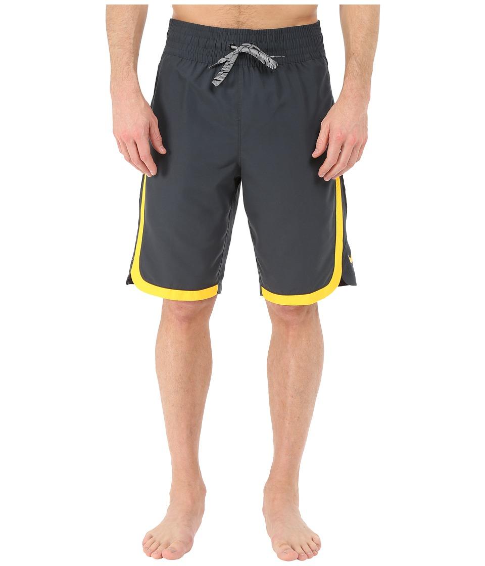Nike - Color Surge Beacon 11 Volley Short (Classic Charcoal) Men's Swimwear
